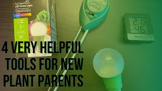 Grow Healthier Houseplants wİth 4 Helpful Tools for New Plant Parents