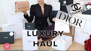OPENING EVERYTHING I BOUGHT LAST WEEK IN DIOR & CHANEL