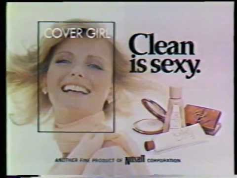 Cheryl Tiegs 1976 Cover Girl Makeup Commercial