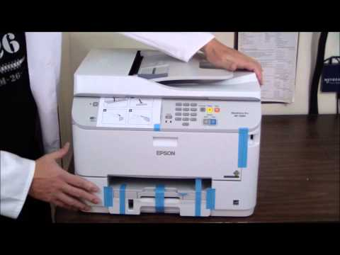 Epson WorkForce Pro WF-5690 Unboxing & Setup