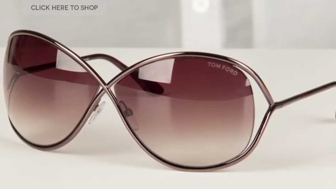 061d815242b Tom Ford FT0130 MIRANDA Sunglasses Review