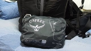 Osprey Airporter Review + How To Protect Backpack When Checked As Luggage While Travelling thumbnail