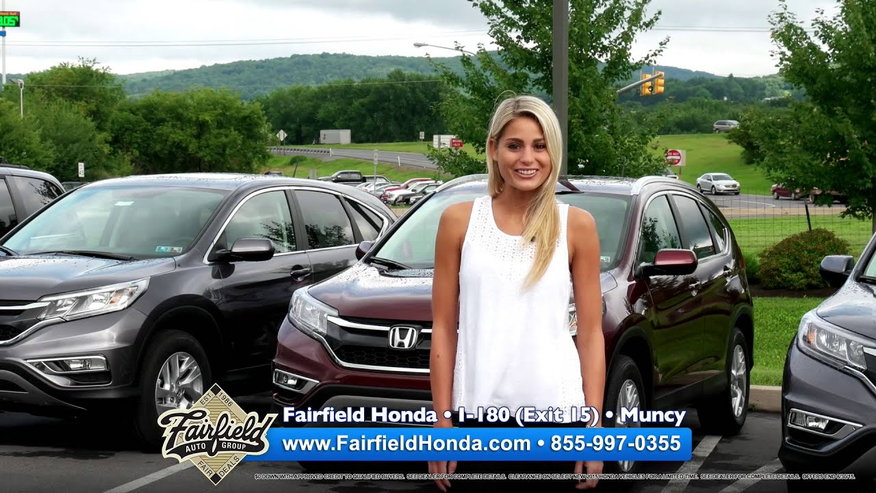 Fairfield Honda - Muncy, PA Honda Dealer - YouTube