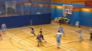 2015.12.19 學界籃球精英賽 分組賽 張振興(藍)