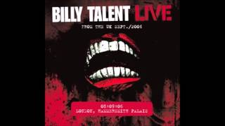 Billy Talent II FULL LIVE Show 2006 From the UK London Hammersmith Palais