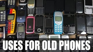 7 Uses For Old Mobile Phones