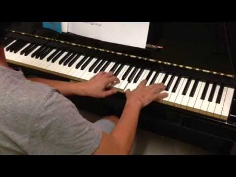(Somewhere) Over the Rainbow piano cover with sheet music