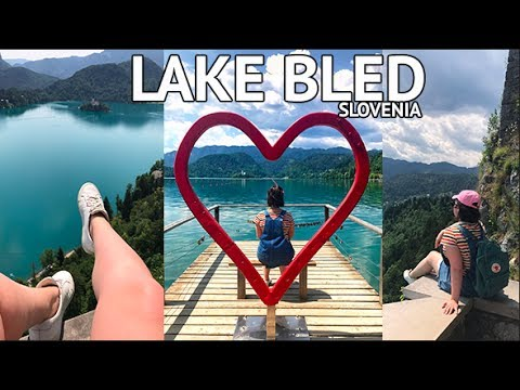 MOST INSTAGRAMMABLE SPOT IN EUROPE?! LAKE BLED, SLOVENIA | TRAVEL VLOG