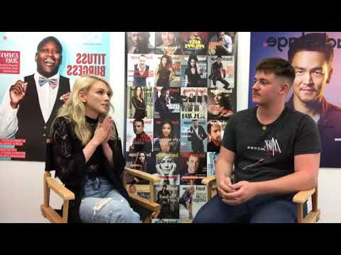 Emily Kinney  with Backstage  Worst Audition, Upcoming Album and More