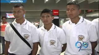 Enero 2 de 2013  Indígenas futbolistas de Corinto, Cauca, viajaron a probar suerte al Banfield de Argentina