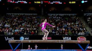 Jordyn Wieber - Balance Beam - 2009 Tyson American Cup - NBC