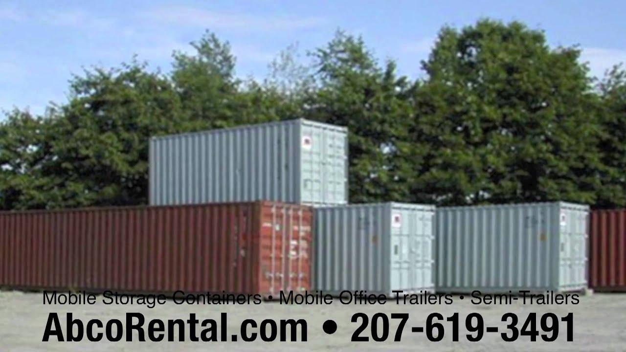 Maine Storage Containers New Hampshire Massachusetts AbcoRental