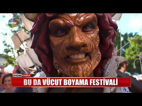 Bu Da Vücut Boyama Festivali