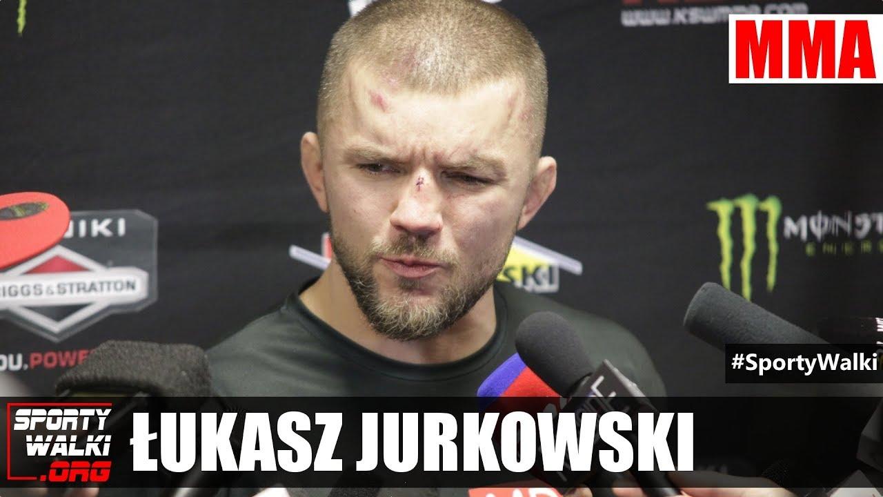 Łukasz Jurkowski: Nie mogłem oddychać pomiędzy rundami