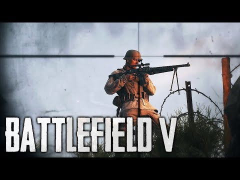 Battlefield V Sniping is SO Satisfying! (BFV Sniper Gameplay)