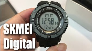 Hiwatch Skmei Black Waterproof Digital Sports Watch review and giveaway