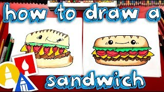 How To Draw A Funny Sandwich