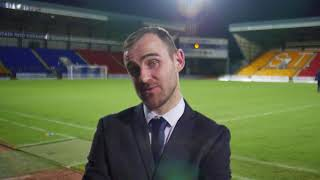 Dave Mackay | Post Match v Dundee | Testimonial Match | 06-10-17