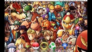 Super Smash Bros Brawl - Brawl Mode w/ Mario, Donkey Kong, Link, Samus & Kirby