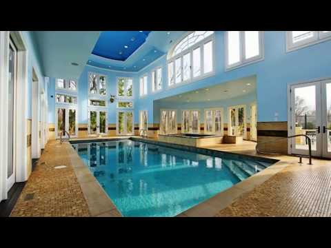 🔝 Indoor Swimming Pool In House Design Tour Ideas 2018 | Best Build Construction Ever For Your Home