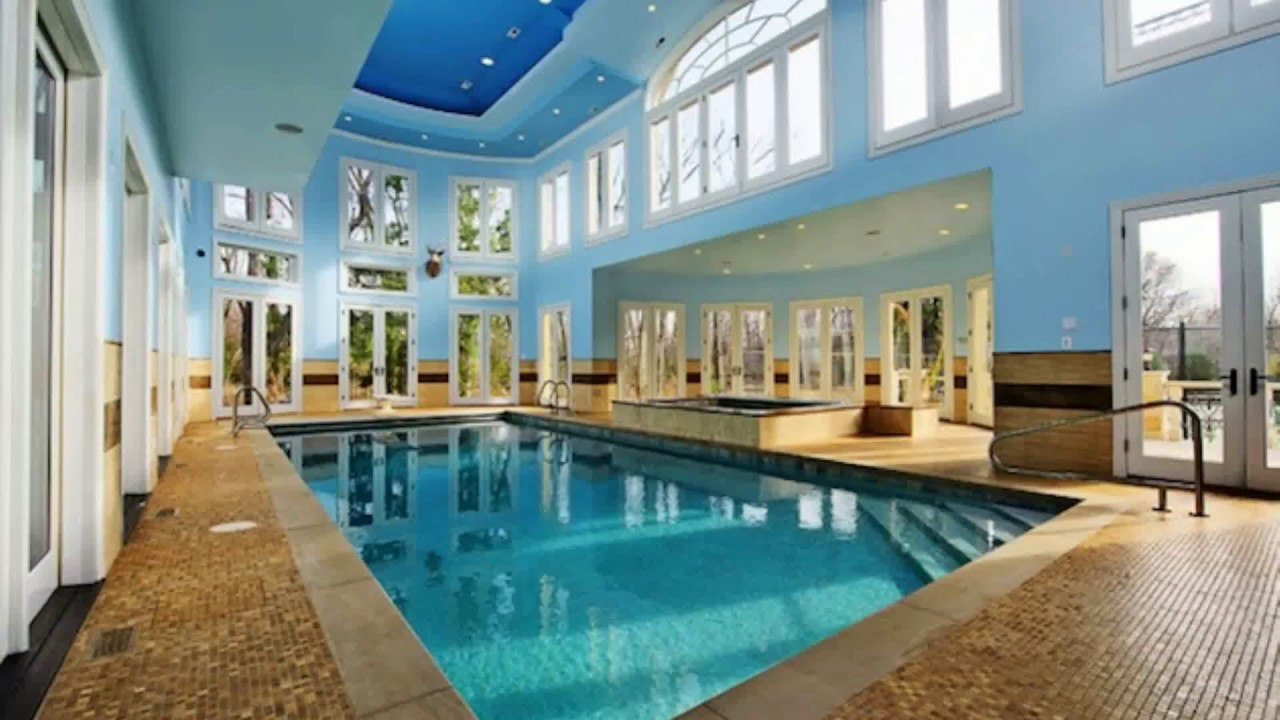 🔝 Indoor Swimming Pool In House Design Tour Ideas 2018 | Best Build ...
