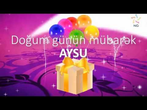 Doğum günü videosu - AYSU