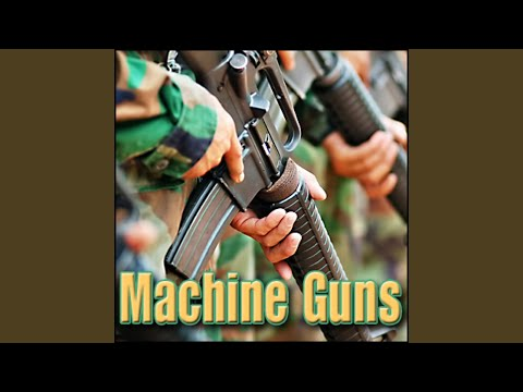Machine Gun - M3 Grease Gun, .45 Acp Submachine Gun: 10 Round Burst, Close Perspective Machine...