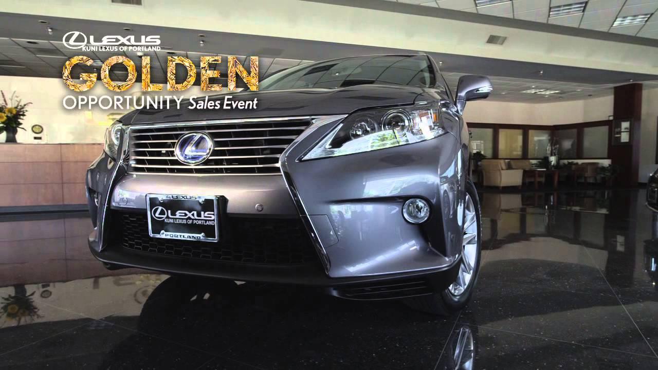 2013 Lexus RX Kuni Lexus Of Portland