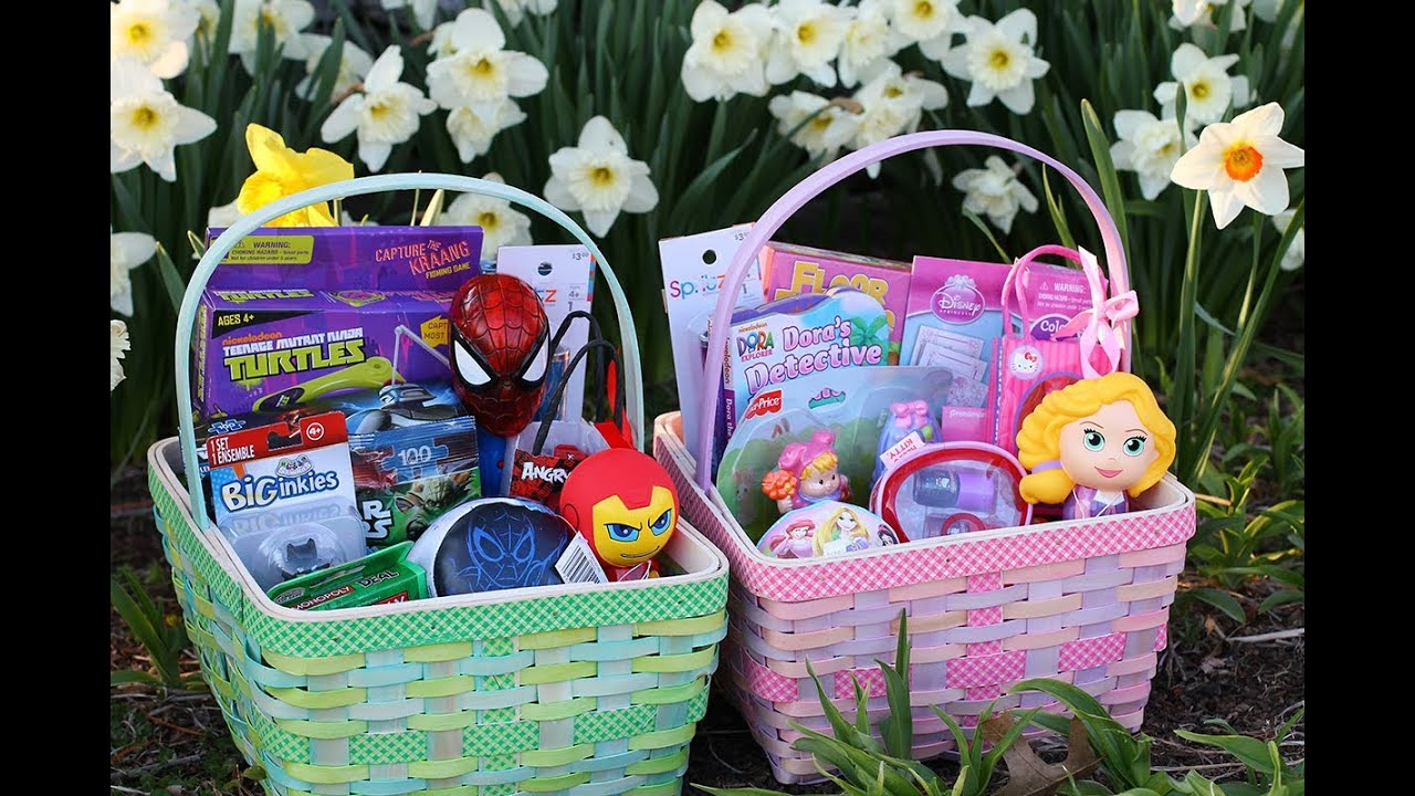 Shopping target clearance for affordable easter baskets youtube negle Choice Image