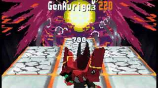 MegaMan Star Force 3: Red Joker - Final Boss: Crimson Dragon