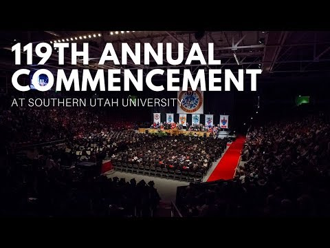 119th Annual Commencement at Southern Utah University