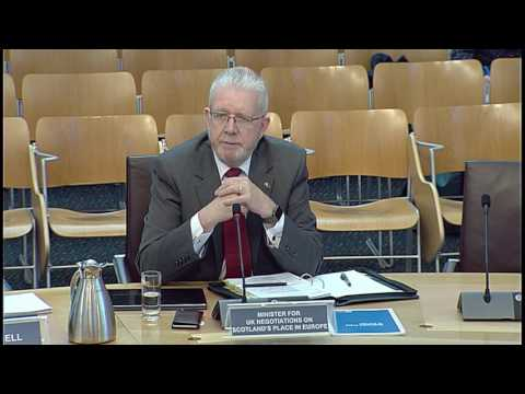 Culture, Tourism, Europe and External Relations Committee - Scottish Parliament: 11th May 2017
