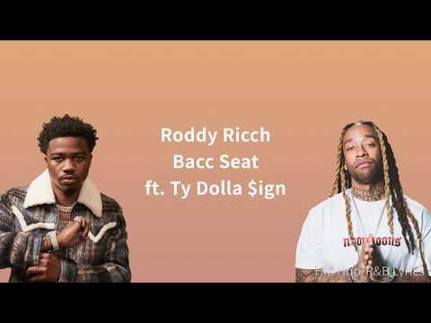 Roddy Ricch – Bacc Seat ft. Ty Dolla $ign (Lyrics)
