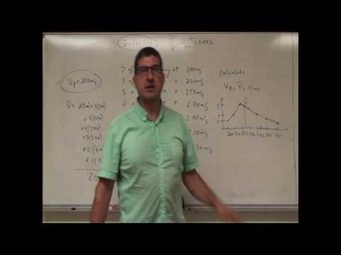 Maxwell Boltzmann Distribution of Gas Speeds Example 1