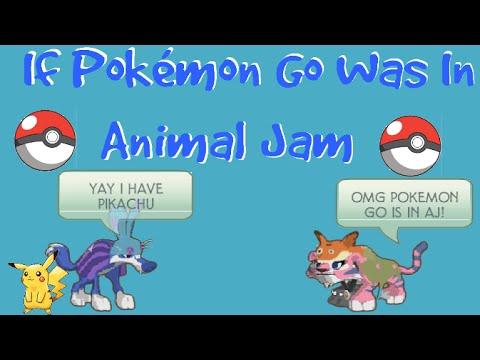 If Pokemon Go Was In Animal Jam