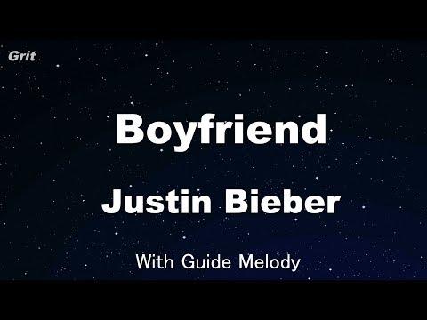Boyfriend - Justin Bieber Karaoke 【With Guide Melody】 Instrumental