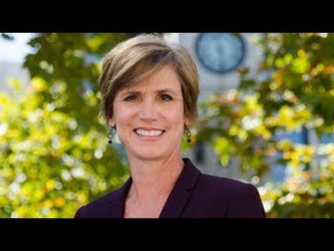 Sally Yates delivers Georgetown Law's 2017 Philip A. Hart Memorial Lecture