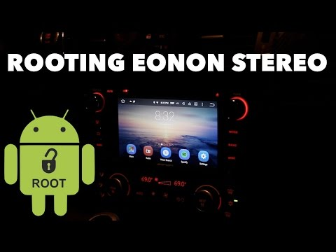 How to Root an Android Car Stereo // Eonon GA6165