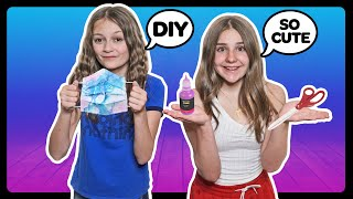 How To Make A Face Mask At Home! Easy DIY Masks **Tutorial W/ Piper Rockelle** 😷😃| Sophie Fergi