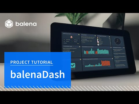 BalenaDash - Build a web frame using a Raspberry Pi in 30 minutes