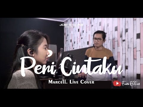 Peri Cintaku - Marcell (Live Cover & Video Lirik By Fani Ellen)