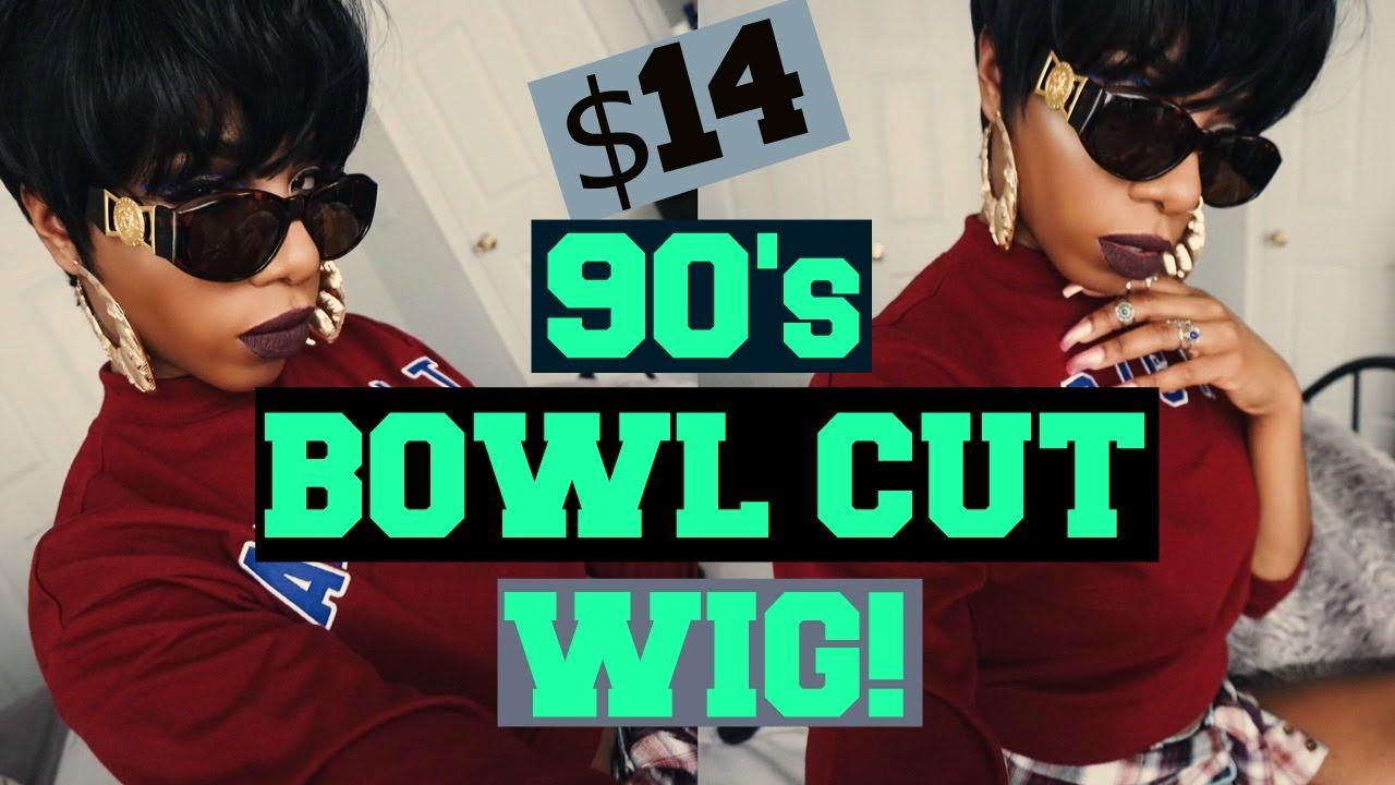 90 s MUSHROOM BOWL HAIRCUT VIBES  14 OUTRE ACACIA WIG! - YouTube 1bf32797c