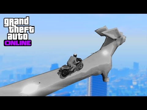 GTA 5 - Top 10 Best stunts ! Impossible precision