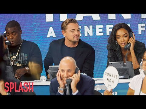 Celebrities at 'Hand in Hand Hurricane Benefit' Raise $14.5M For Relief | Splash News TV