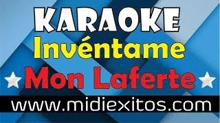 Invéntame - Mon Laferte - Karaoke [HD] y Midi