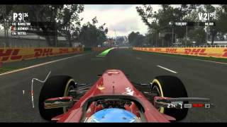 Gameplay Formula 1 2011 - PC