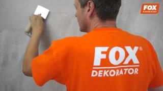 efekt: Trawertyn Barwny - FOX DEKORATOR - film instruktażowy