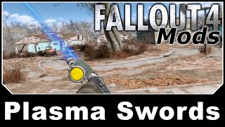 Fallout 4 Mods - Plasma Swords