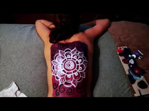 easy back painting youtube ForBack Painting Ideas Easy