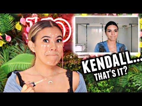 I tried following a Kendall Jenner Makeup Tutorial... Experiencing things😂... thumbnail